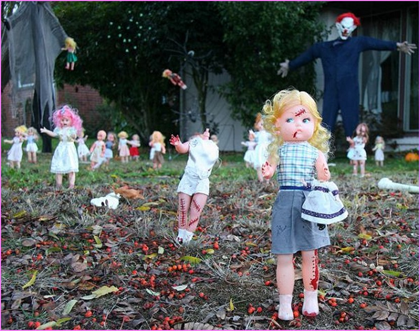 Superlative halloween yard decoration ideas How to make easy halloween decorations at home