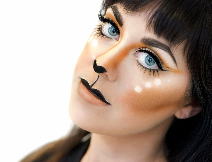 halloween-makeup-idea-doe-deer-pretty