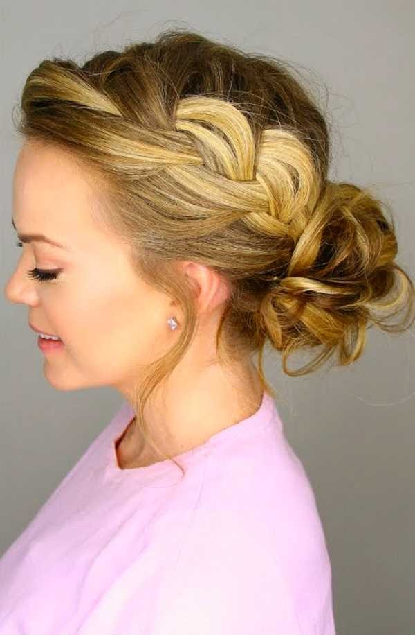 Latest And Cute Messy Bun Hairstyle For Women