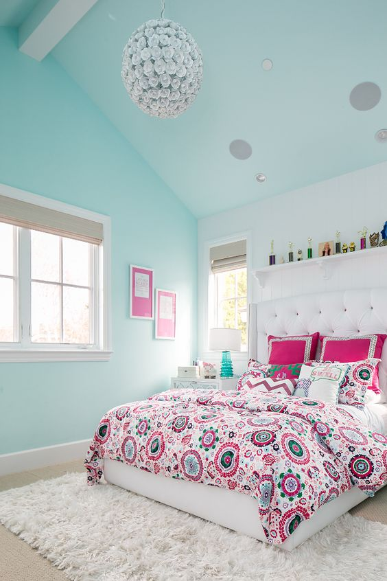 21 Breathtaking Turquoise Bedroom Ideas – The WoW Style
