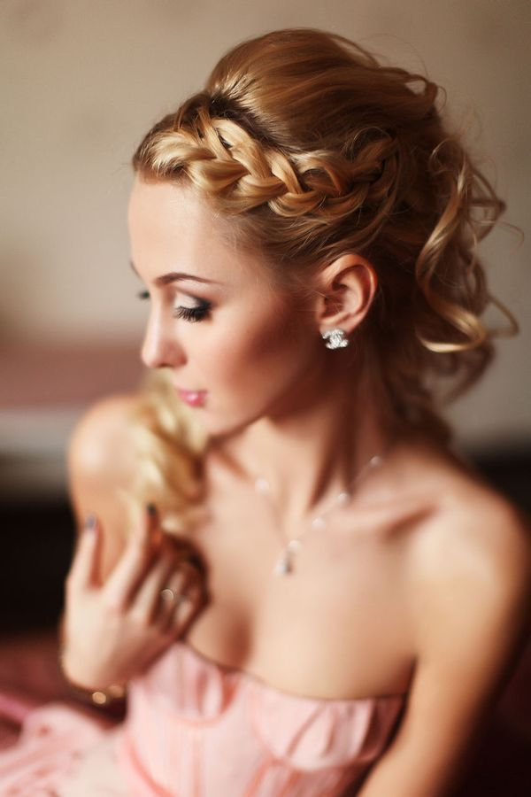 Braids Simple Wedding Hairstyles