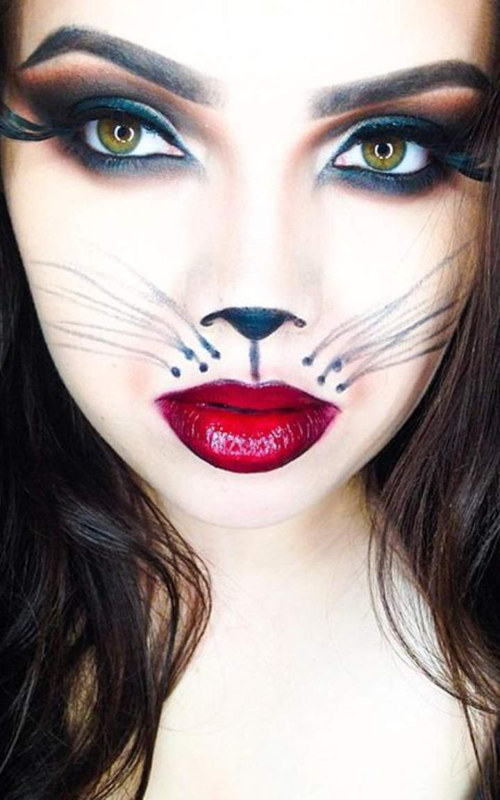 Halloween Makeup For Women To Look Scary