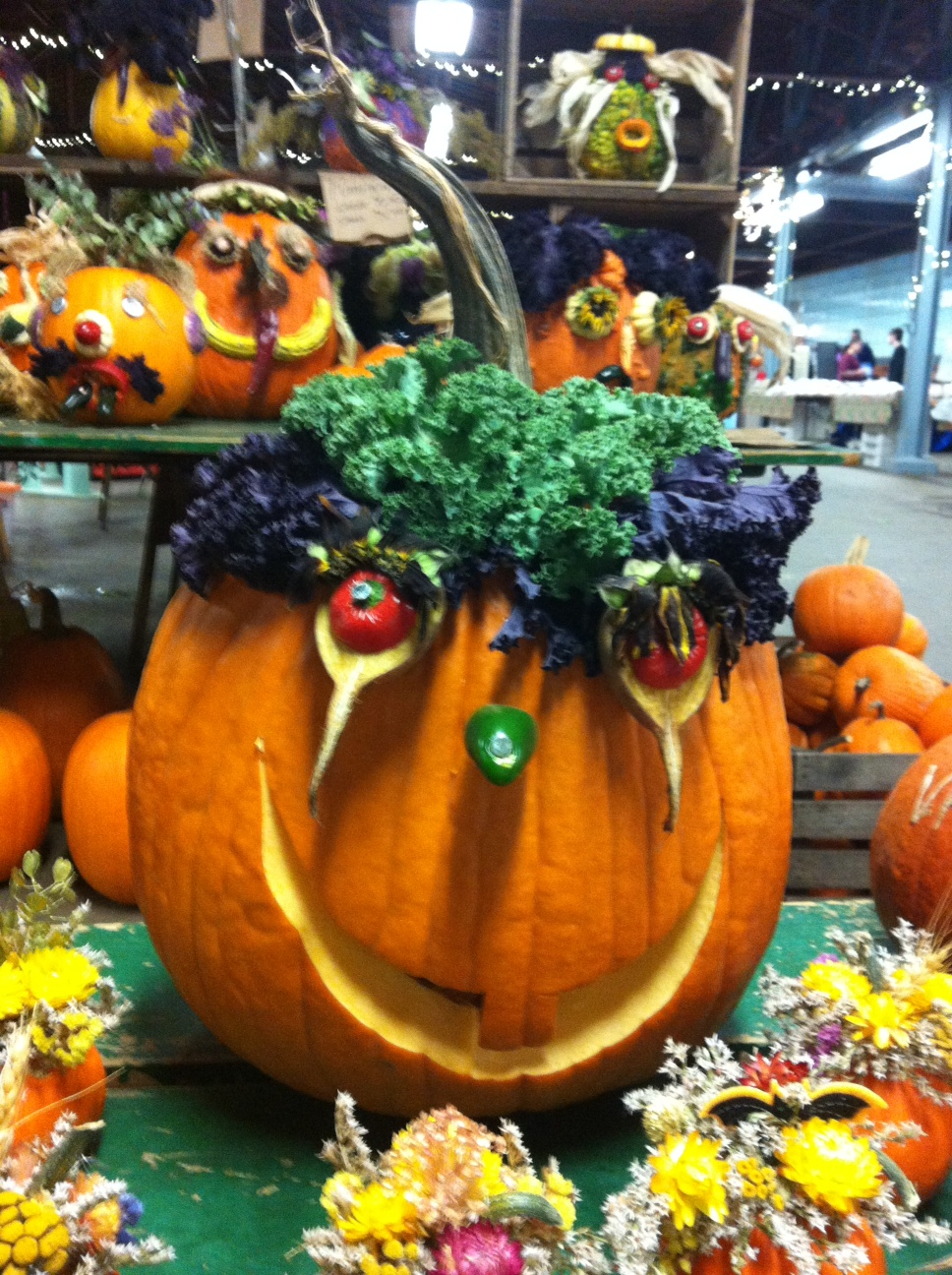 Creative-Pumpkin-Halloween-Decorations