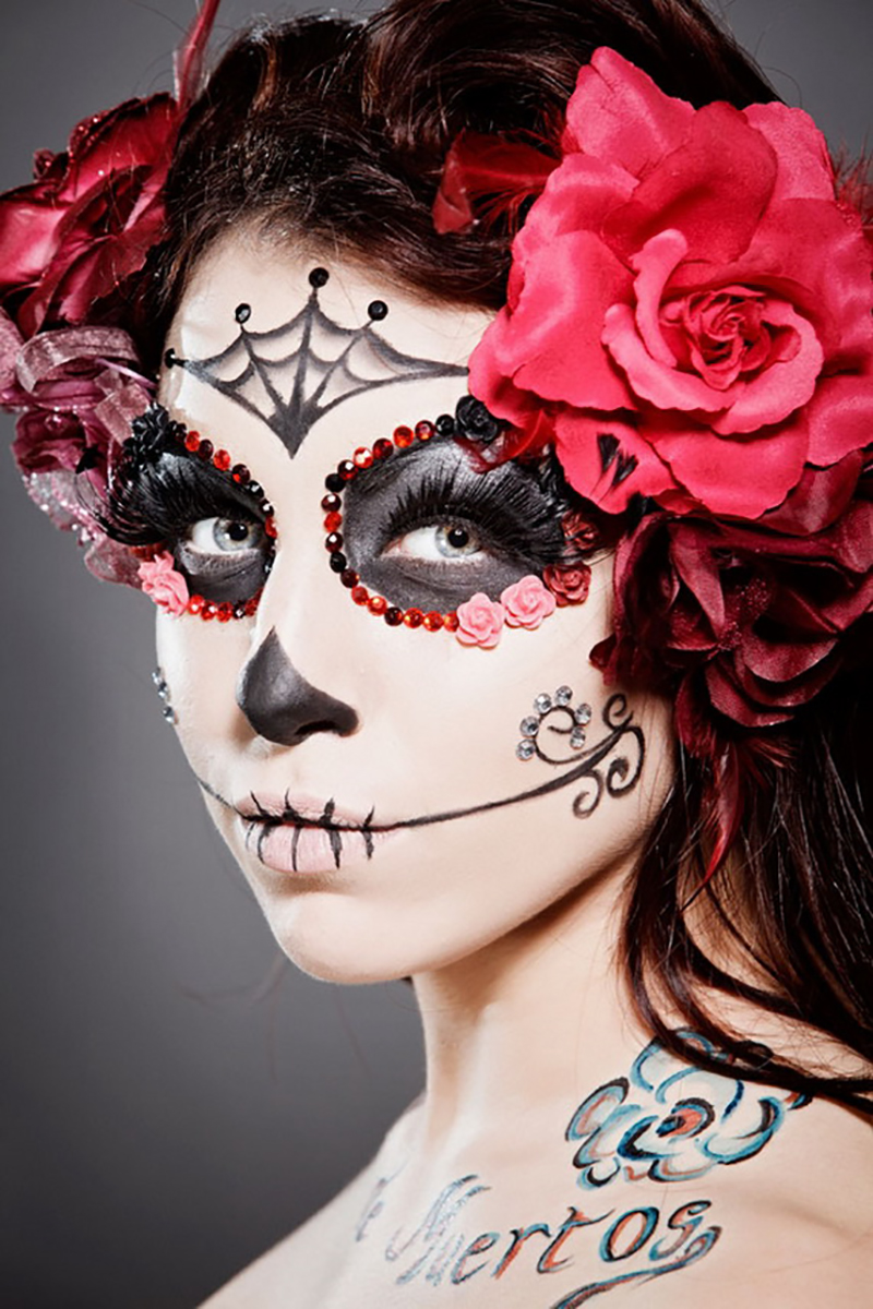 Favorite Day of The Dead Halloween Makeup