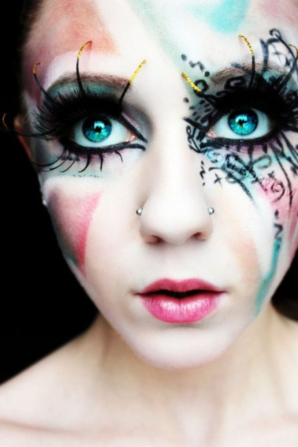 Scary Halloween Makeup for Women