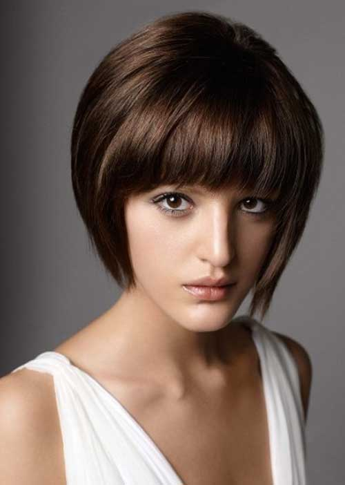 Brown Short Hairstyles For Women