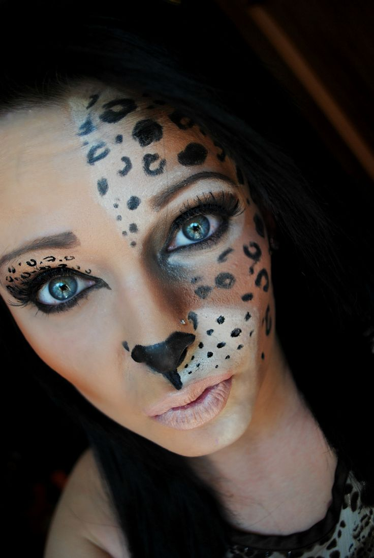 Cheetah-Halloween-Makeup