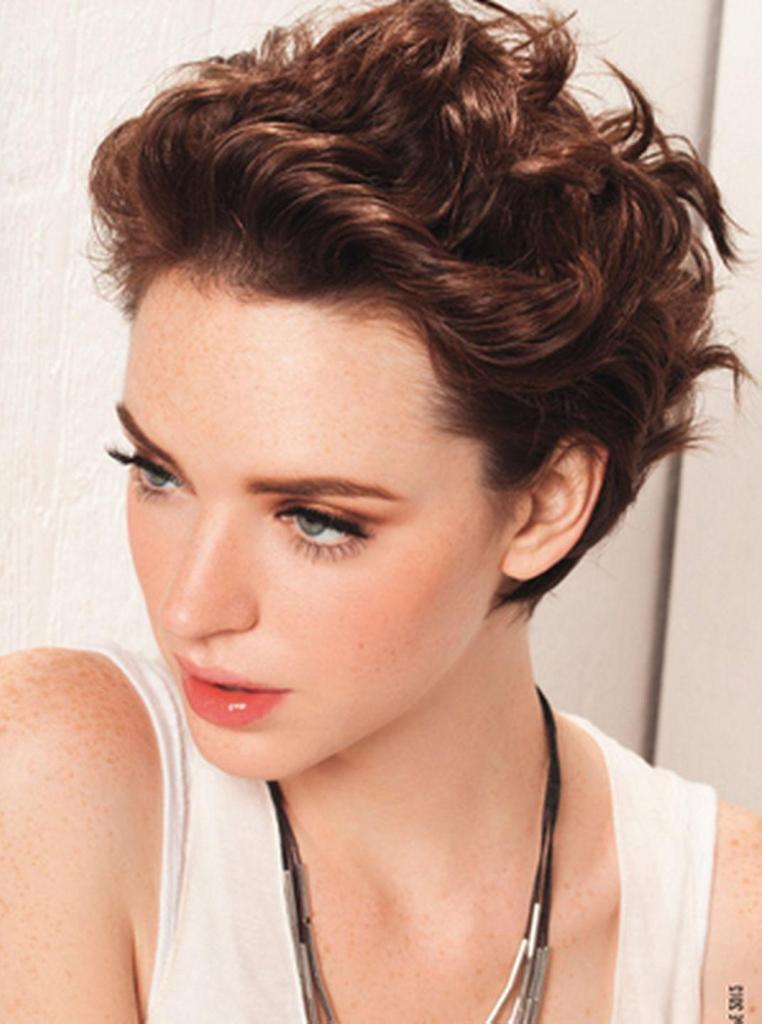 Fringes Short Hairstyles For Thick Hair