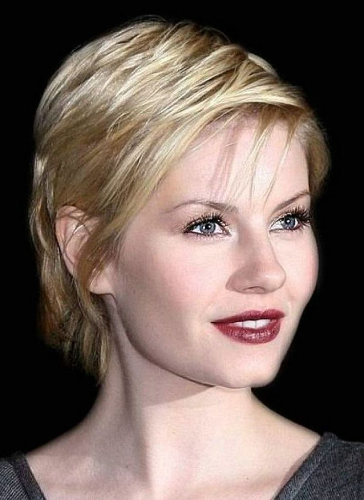 short hair style for round faces 40 classic hairstyles for faces 8494 | Short Hairstyles For Round Faces Thin Hair