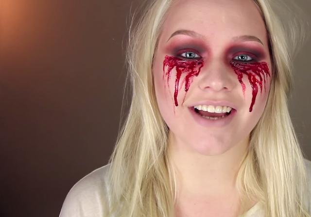 bloody-halloween-makeup-ideas