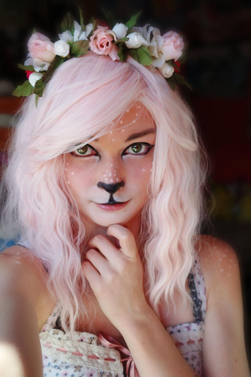 deer-makeup-for-halloween