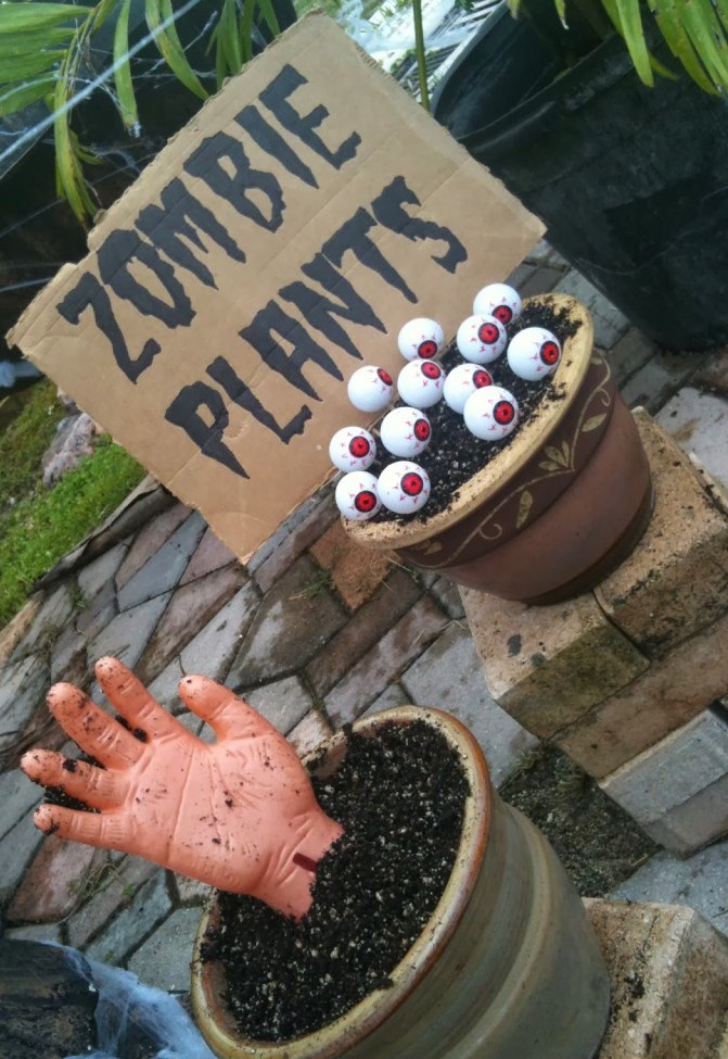 zombie party decorations ideas