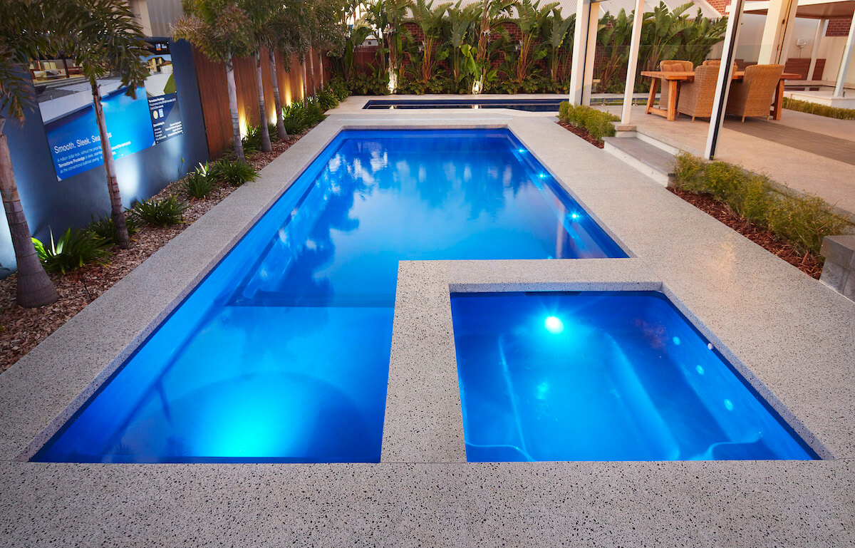6 latest swimming pool designs you can consider while home for Pool design ideas
