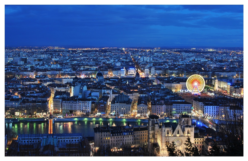 The City of Lyon, France 2