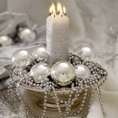 White Vintage Christmas Ideas 2015 (25)