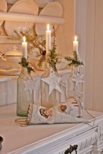 White Vintage Christmas Ideas 2015 (3)