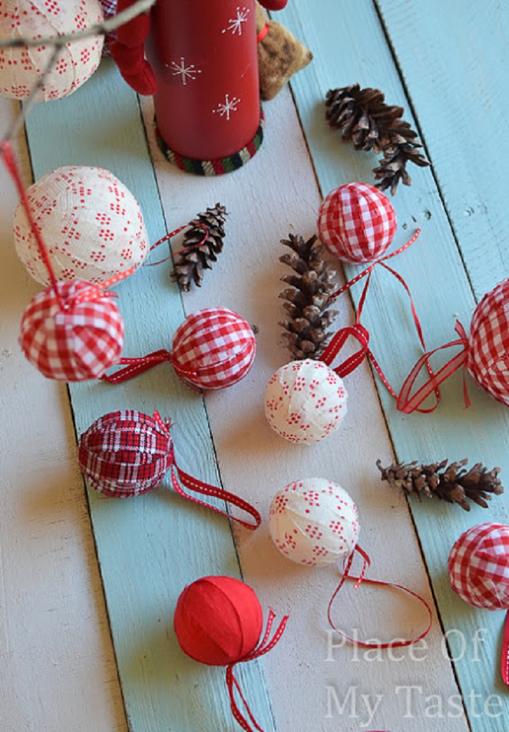 DIY Fabric Oornaments
