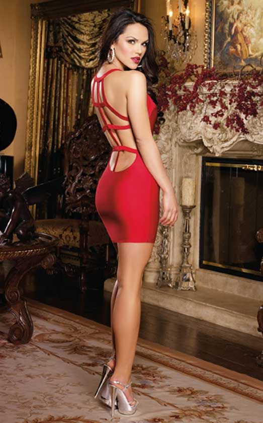 Stunning Red Dresses For Christmas Eve Party