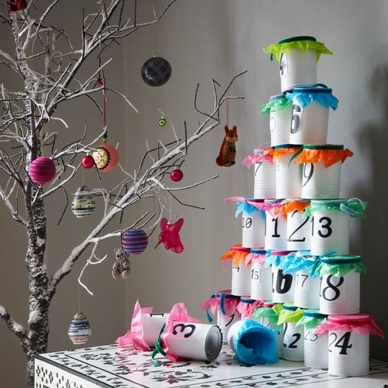 33 DIY Christmas Calendars Ideas