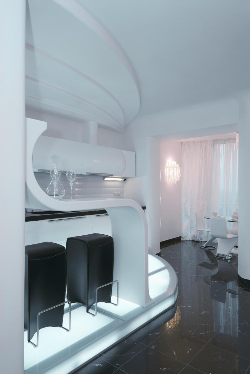 30 Futuristic Interior Design Ideas