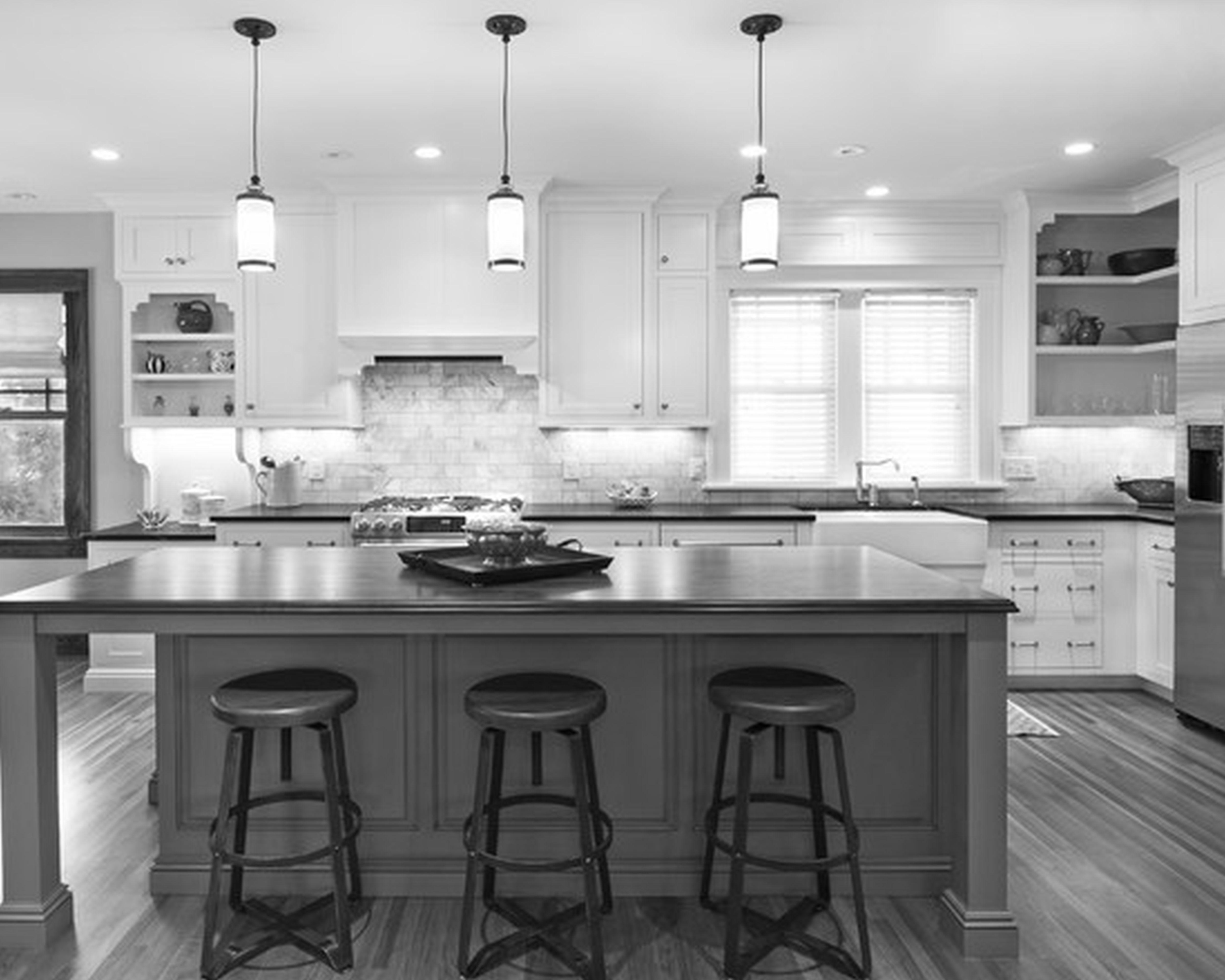 excellent best kitchen design ideas | 30 Monochrome Kitchen Design Ideas