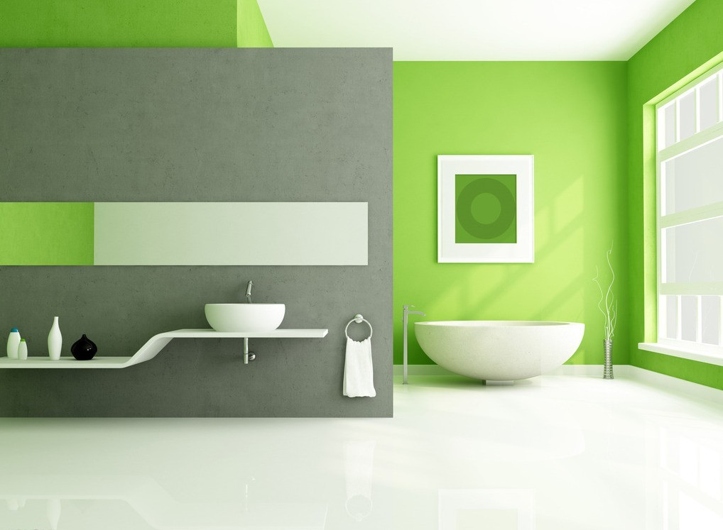 beautiful-green-interior-design-minimalist-green-bathroom-interior-design-3d