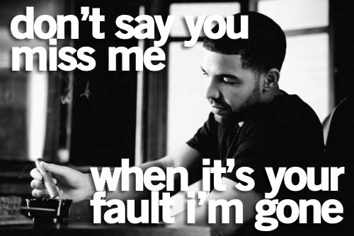 drake quote.