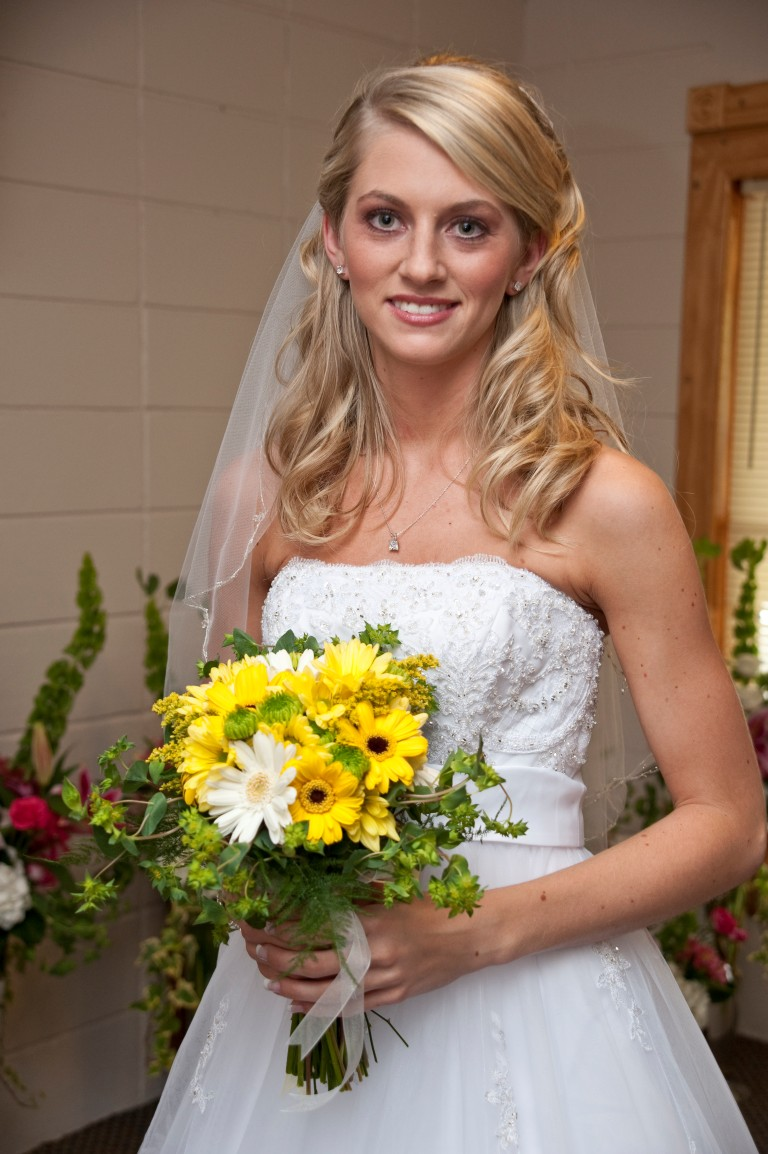 southern wedding - bride