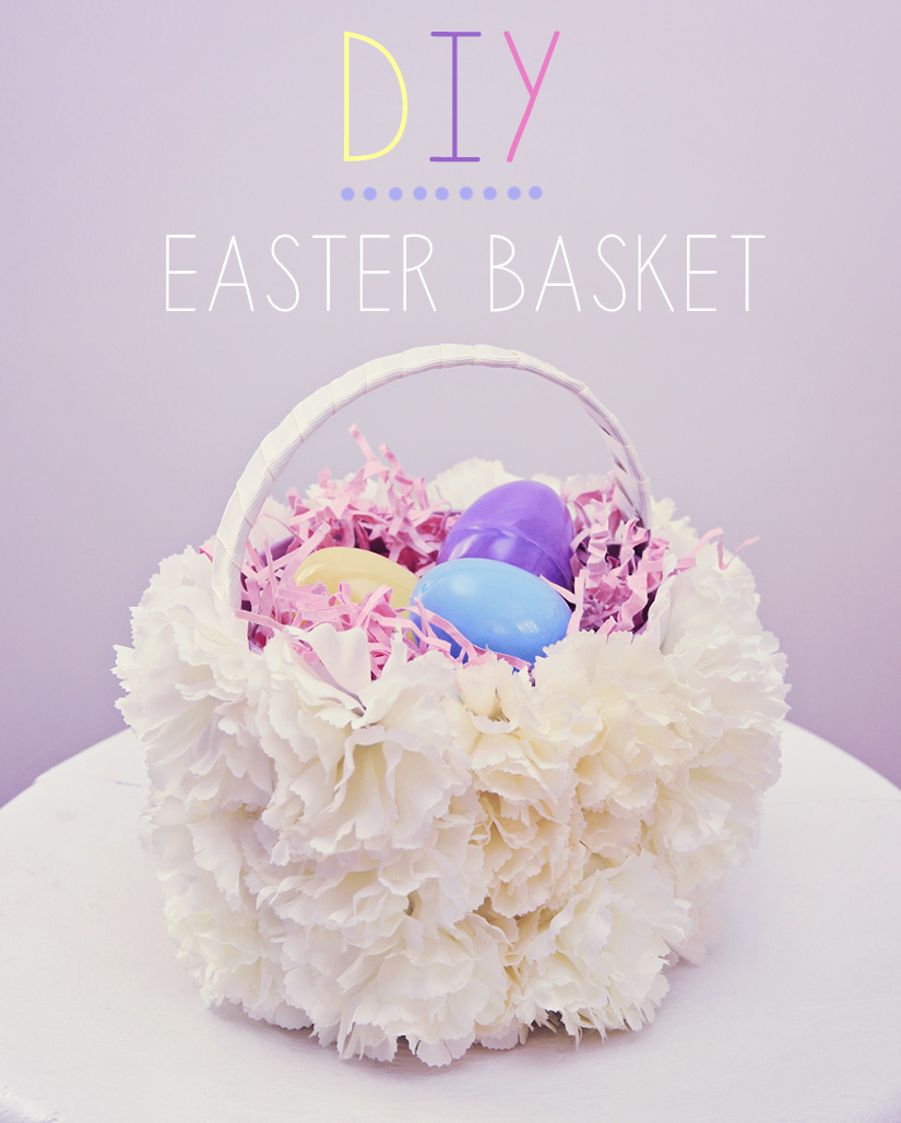 Basketlabel diy easter decoration
