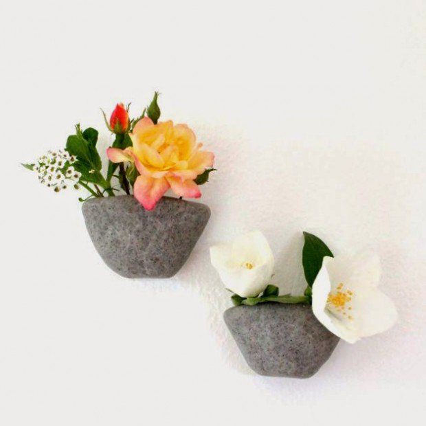 Wall Mounted Pinch Pots