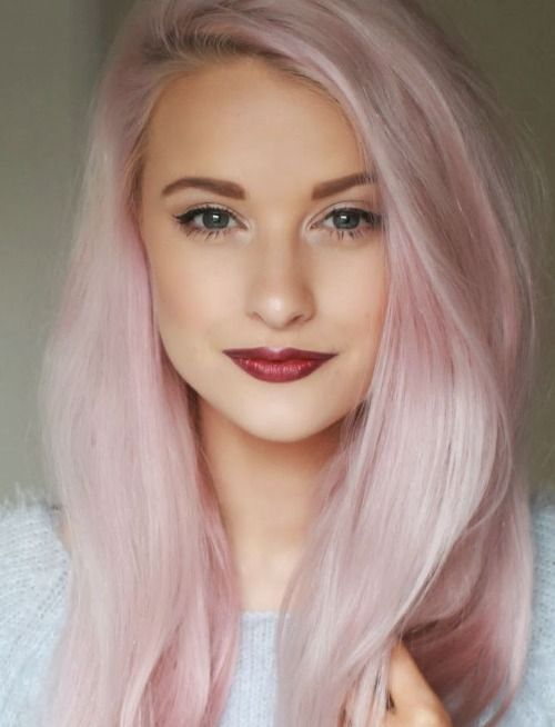 Gorgeous Pastel Hair Color