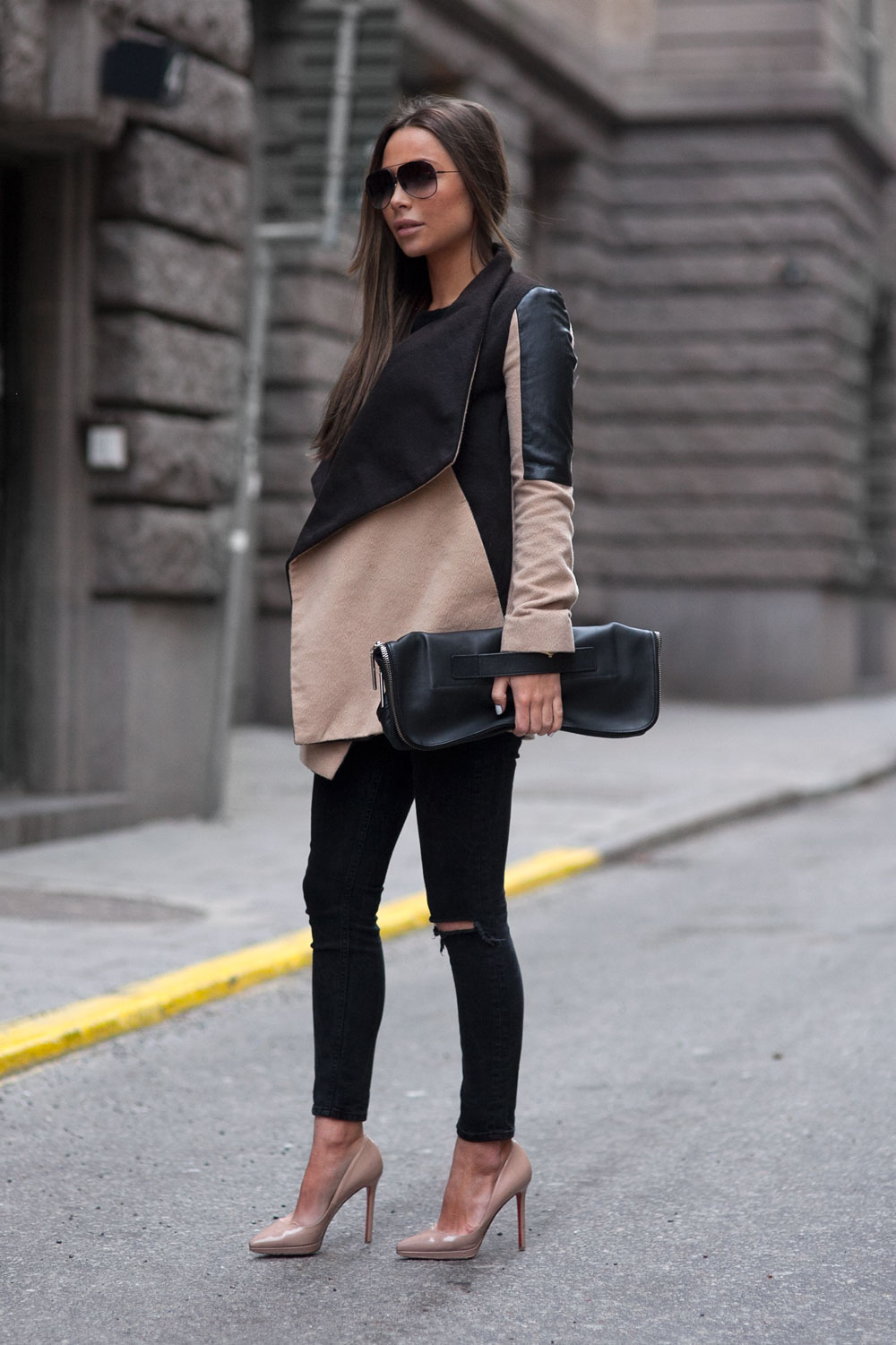 Cool Black Jeans Outfits