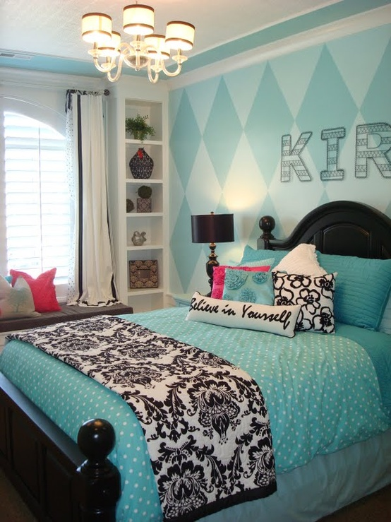 Fabulous Turquoise Bedroom Ideas
