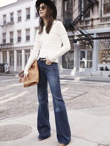 Flared Jeans Style