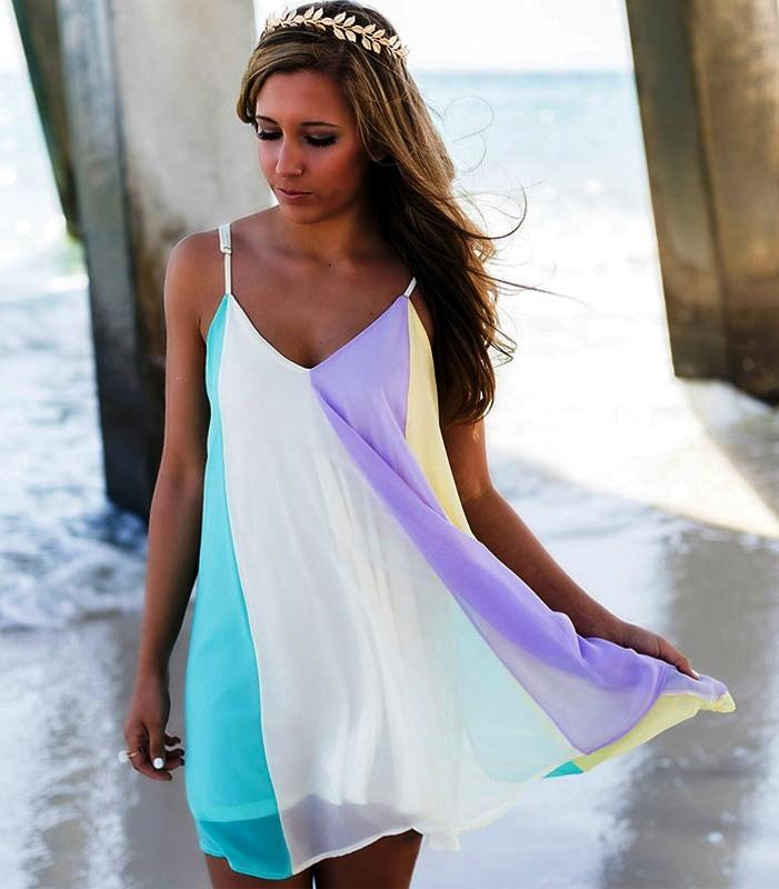 Rainbow-Summer-Beach-Dresses