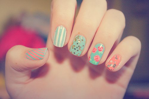 Splendid Spring Nail Art Ideas