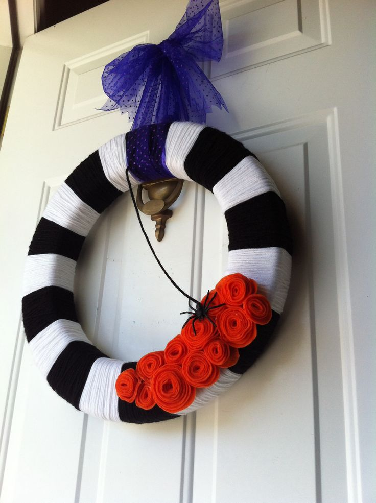 Stunning-Black-and-White-Halloween-Decorations-Ideas