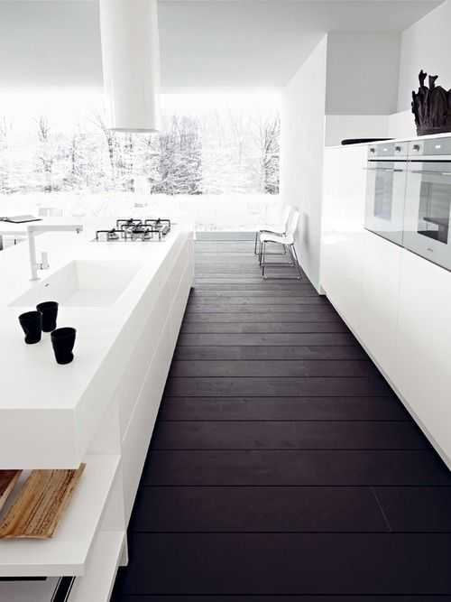 white-kitchen-and-dark-floorboards