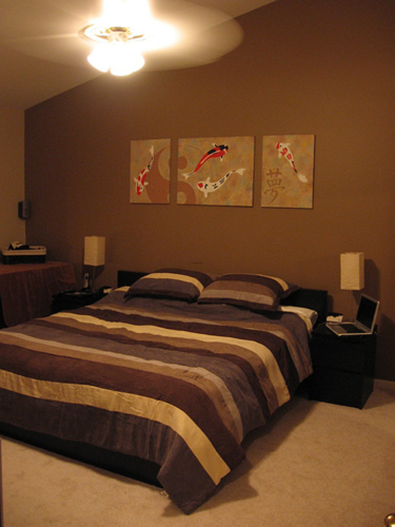 Brown Bedroom Interior Designs Ideas with Elegant Furniture Decorating / pictures photos of home and house designs ideas