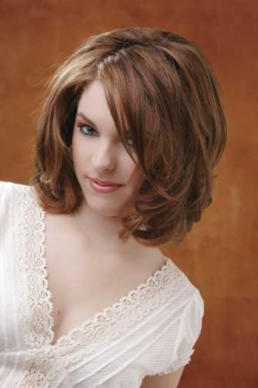 Layered Short Hairstyles for Medium Length