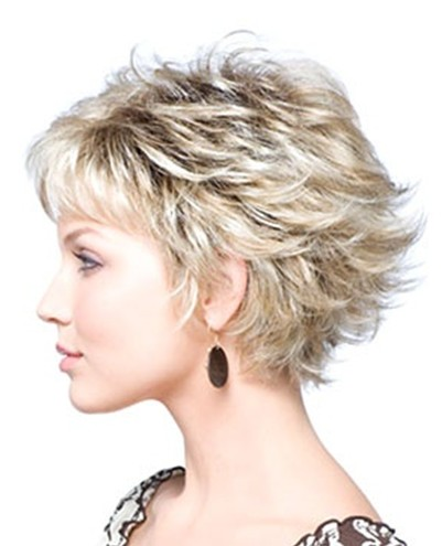 Summer Hairstyles for Short Hair, Layered Haircut