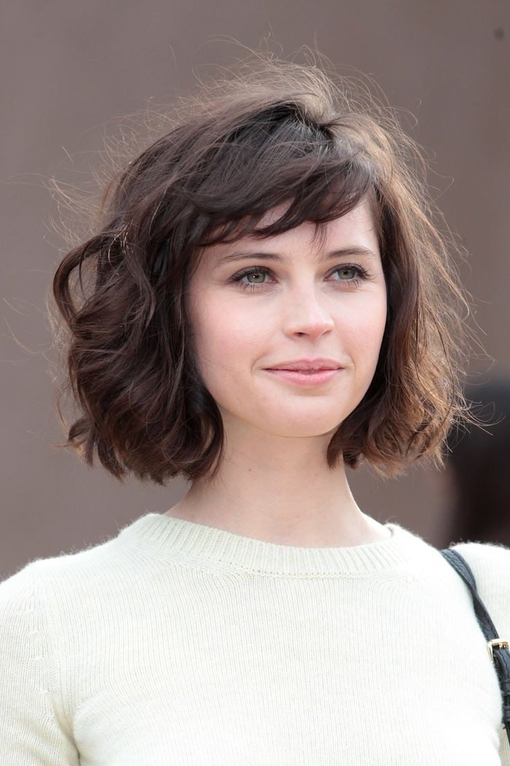 Waves Short Hairstyles For Thick Hair