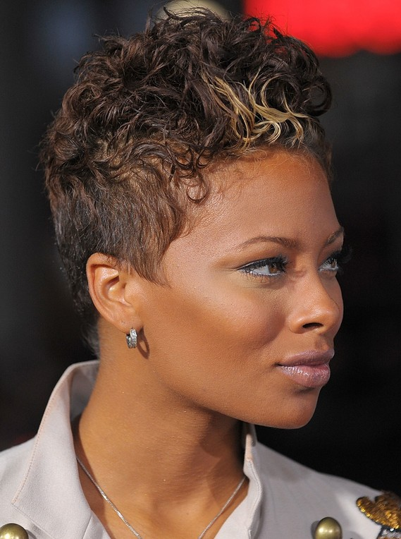 Wavy Short Hairstyles African Americans