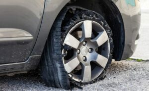 Everything You Should Know About a Tire Blowout
