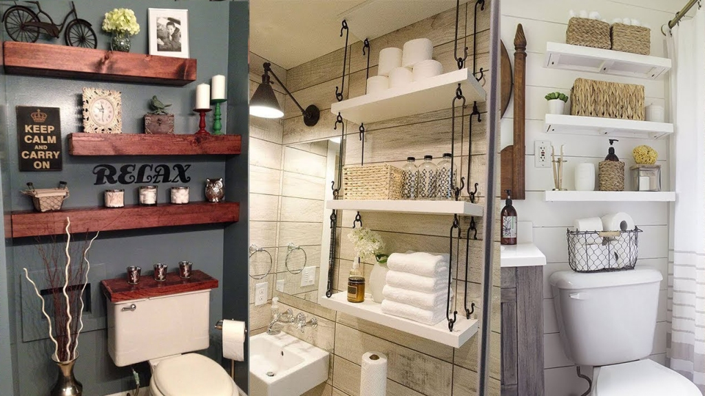12 Clever Small Bathroom Storage Ideas over Toilet