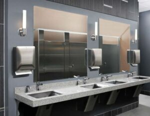 Does Your Modest Commercial Lavatory Need a Makeover?