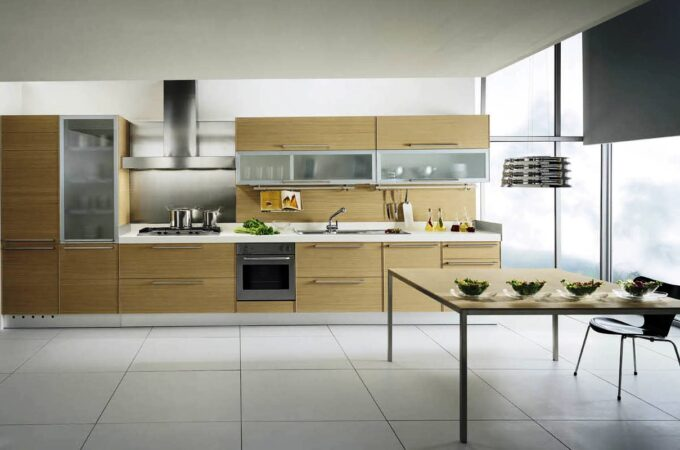 High-Gloss Kitchen Cabinets for Modern Kitchens