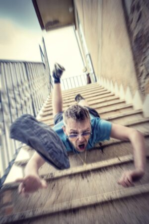 Best Foot Forward: Understanding the Danger of Falling Down the Stairs